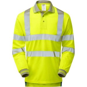 Pulsar Hi Vis Long Sleeved Polo Shirt (P458)