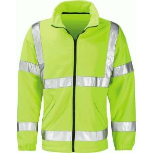 Hi Vis Crusader Fleece Jacket Yellow