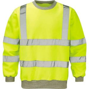 Hi Vis Sentinel Yellow Sweatshirt - 2XL, Yellow