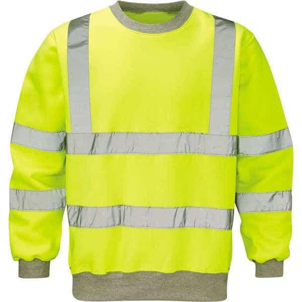 Hi Vis Sentinel Yellow Sweatshirt - 2XL, Yellow