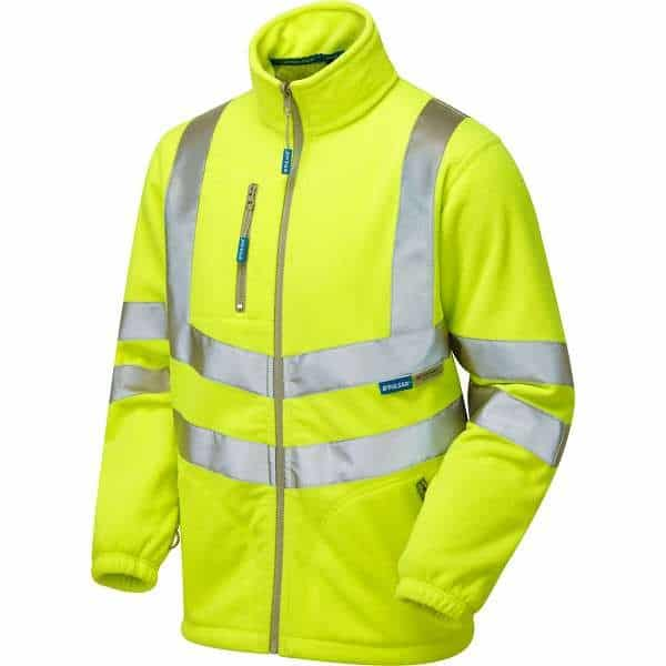 Pulsar Hi Vis Interactive Lined Fleece Jacket (P507) - 2XL, Yellow