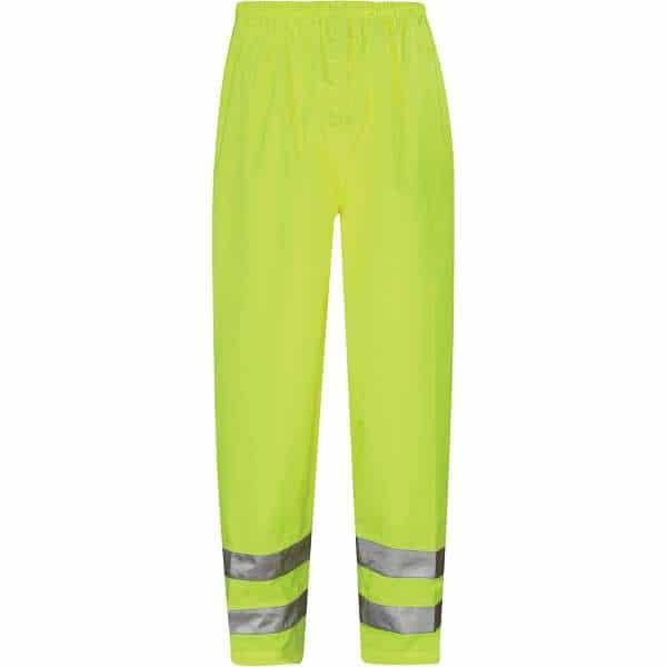 Hi Vis Viking Breathable Over Trousers - 2XL, Yellow