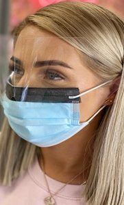 Surgical Mask With Built in Visor