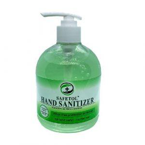 Safetol Anti-Bacterial Lemon Hand Gel (500ml)