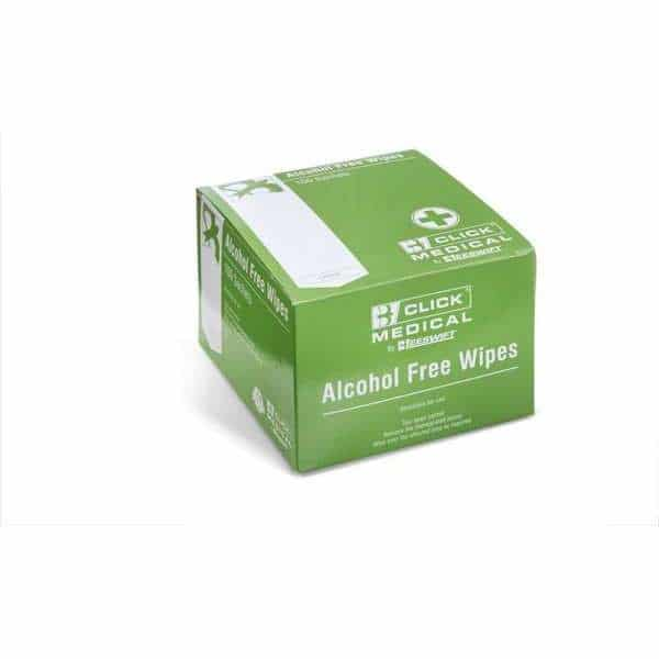 Alcohol Free Wipes (pack of 100)