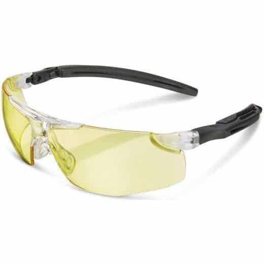 Anti-Fog Temple Spectacles (Ergo) Yellow