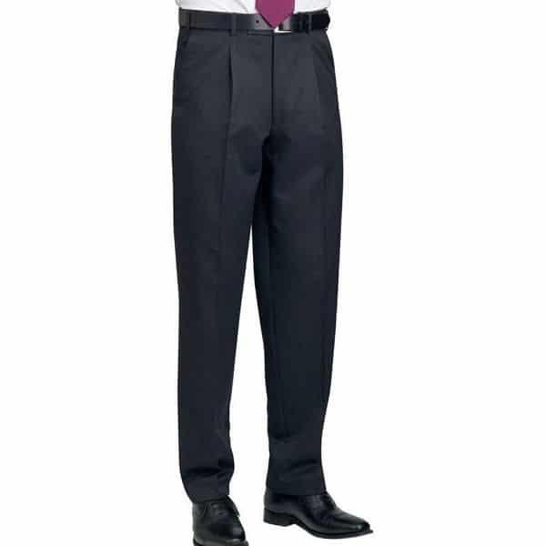 Brook Taverner Delta Single Pleat Trouser