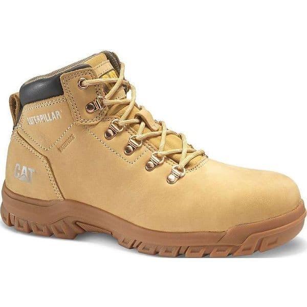 Caterpillar Kitson MAE ST Honey Ladies Safety Boots - Honey, 3