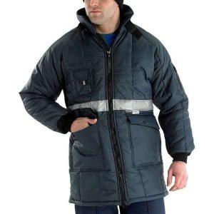 Coldstar Freezer Jacket Navy Blue - 2XL