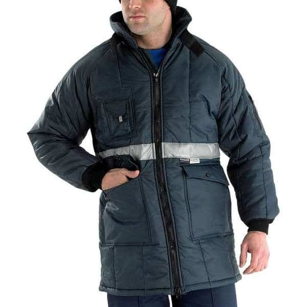 Coldstar Freezer Jacket Navy Blue - 2XL