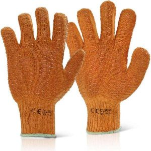 Criss Cross Gloves Orange