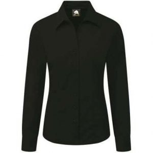 Edinburgh Premium Long Sleeve Blouse - 14, Graphite