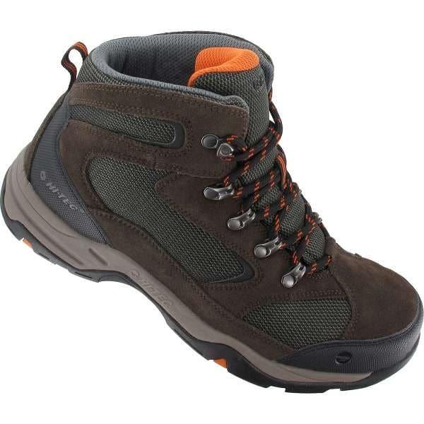 Hi-Tec Storm Waterproof Light Hiking Boots - Dark Chocolate, 8