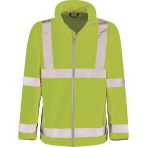 Hi Vis Marauder Yellow Softshell Jacket - 2XL, Yellow