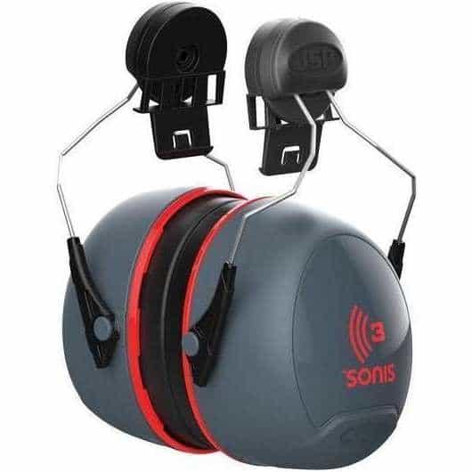 JSP Sonis 3 Helmet Mounted Ear Defenders - SNR 36