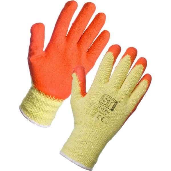 Orange Latex Gloves (Handler)