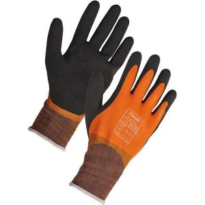 Orange Water Resistant PAWA Gloves (PG201)