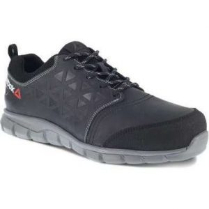Reebok Excel Light Women's Safety Trainer (IB136) - black, 4