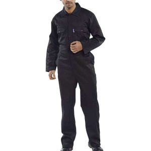 Regular Black Coverall - 54, black