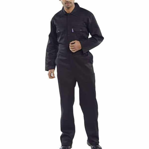 Regular Black Coverall - 54, black