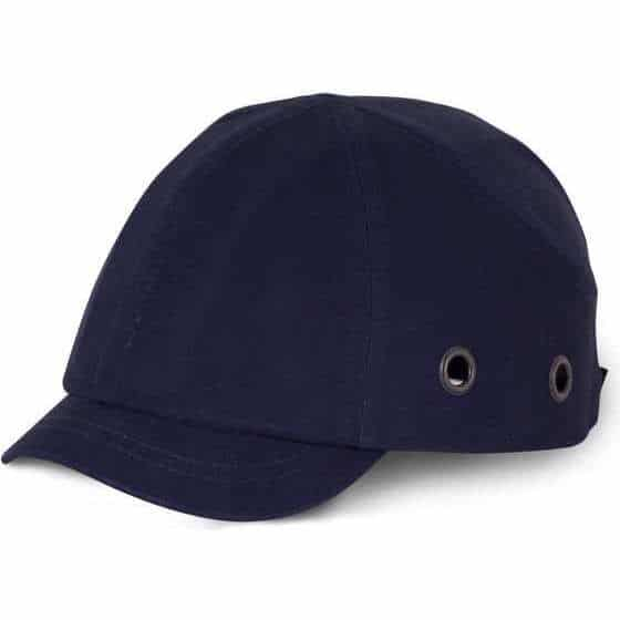 Short Peak Safety Baseball Cap Navy