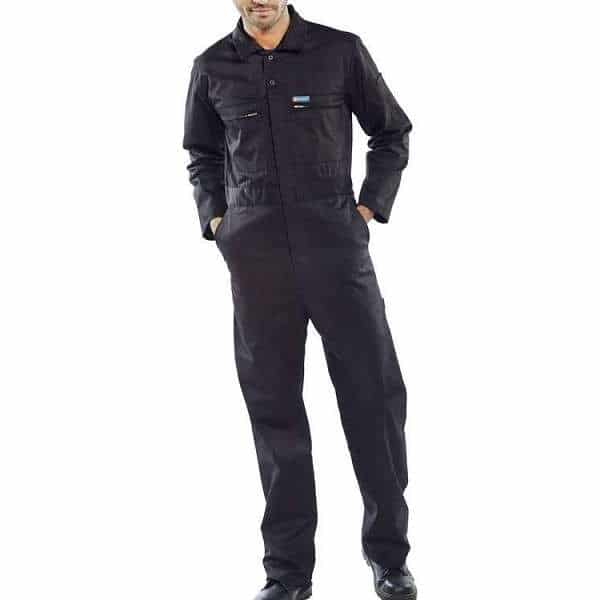 Super Click Heavy Weight Coverall - 36, black