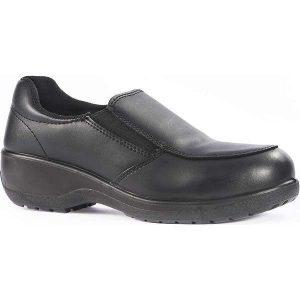 Vixen Topaz Ladies S3 Safety Shoes - 8, black