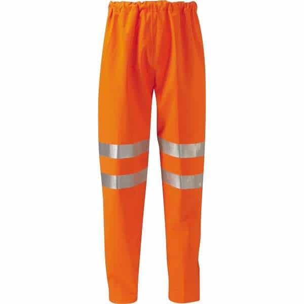 Hi Vis Rhine Gore-Tex 3 Layer EN471 Rail Spec Over Trousers