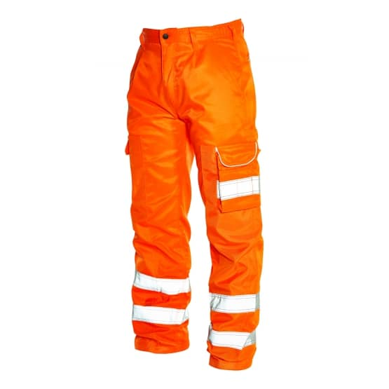 HI-VIS VULTURE BALLISTIC TROUSER (6900) - 28, Orange