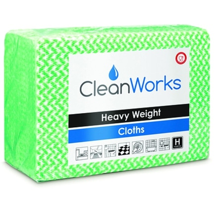 CleanWorks Heavy Weight Hygiene Cloth (Pack of 25)
