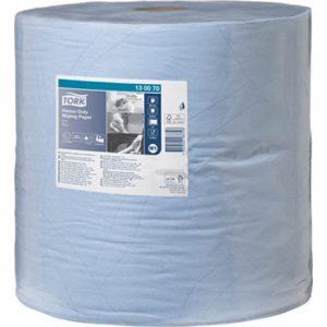 Tork Heavy Duty Wiping Paper Blue 1000 Sheet