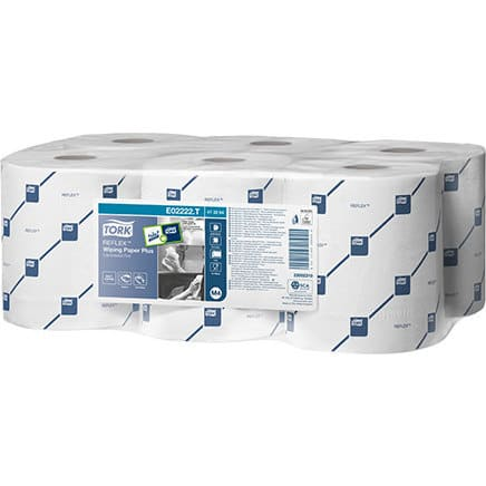 Tork Reflex Wiping Paper Plus 2Ply