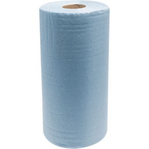 Hygiene Wipe Blue 2Ply