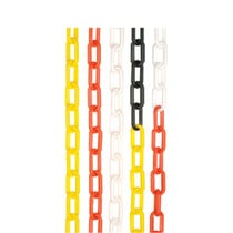 Nylon Chain Red/white 10m Pack