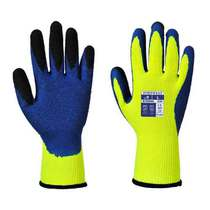 A185 Latex Duo-Therm Hi-Vis Builders Grip Glove