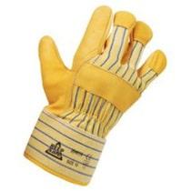 Glop5 Premier Yellow Hide Rigger Glove