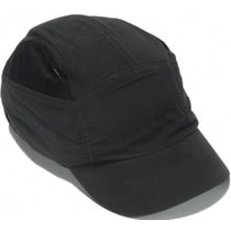 Reduced Peak First Base Bump Cap - Black