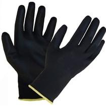 303055 Glo164 Black Pu Palm Coated Glove