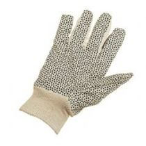 Glo34 Mens Polka Dot Knitwrist Glove