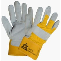 KeepSAFE Premium Split Leather Rigger Gloves