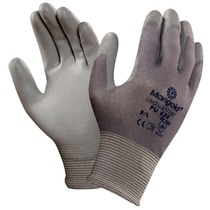 Ansell 48-102 Sensilite PU Palm Coated Glove