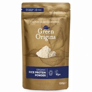 Organic Rice Protein Powder 100 grams