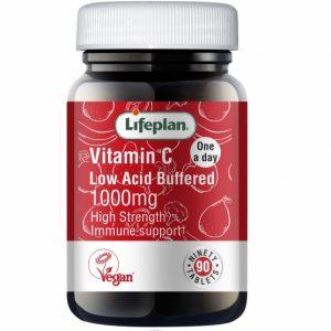 Buffered Vitamin C 1000mg X 90 Tablets