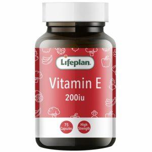 Vitamin E 200iu X 75 Capsules
