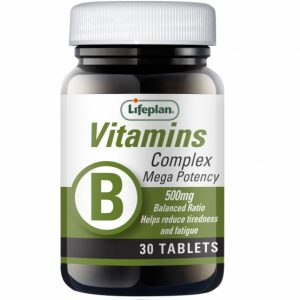 Vitamin B Complex (Mega) X 30 Tablets
