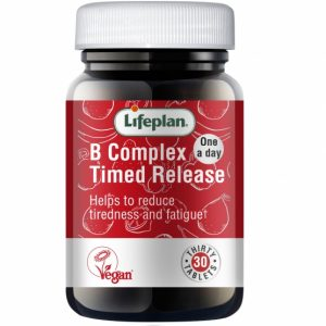 Vitamin B Complex Timed Release X 30 Tablets