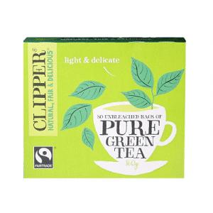 Clipper Green Tea 80 Tea Bags