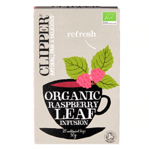 Clipper Organic Relaxing Infusion Raspberry Leaf 20 Tea Bags