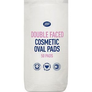 Boots double faced oval cotton wool pads 50 pack