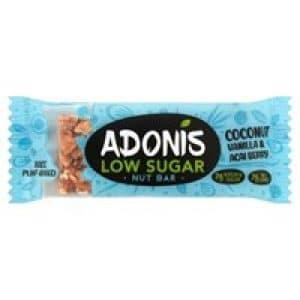 Adonis Coconut Vanilla and Acai Bar